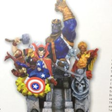 Figuras y Muñecos Marvel: GUANTELETE DEL INFINITO AVENGERS VENGADORES PIEZA COLECCIONISTA RESINA KOTOBUKIYA NO PVC NUMERADA . Lote 145494338