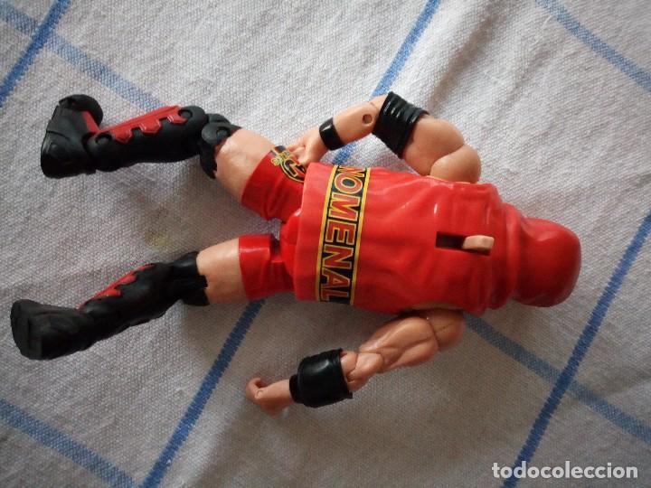 Figuras y Muñecos Marvel: TNA IMPACT ACTION WERSTLING 6 SIDED RING W/BONUS RED AJ STYLES FIGURA & X-DIVISION CHAMPIONSHIP BELT - Foto 4 - 120258987