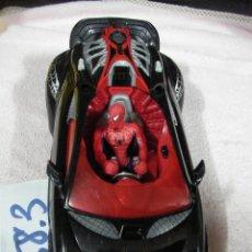 Figuras y Muñecos Marvel: GRAN COCHE SPIDERMAN CON FIGURA. Lote 122483811
