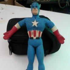 Figuras y Muñecos Marvel: CAPTAIN AMERICA MARVEL JUST TOYS 1989 50TH ANNIVERSARY COLLECTOR EDITION. Lote 122523411
