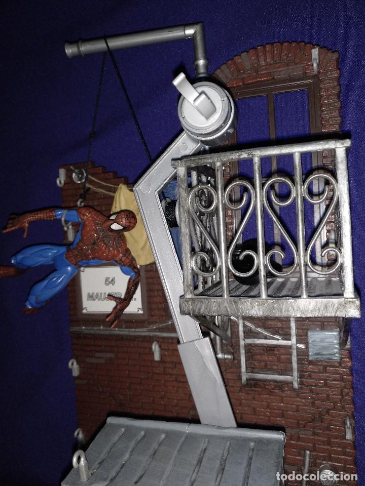 Figuras y Muñecos Marvel: Diarama de SPIDERMAN de Marvel,con moto de REGALO - Foto 6 - 125206123