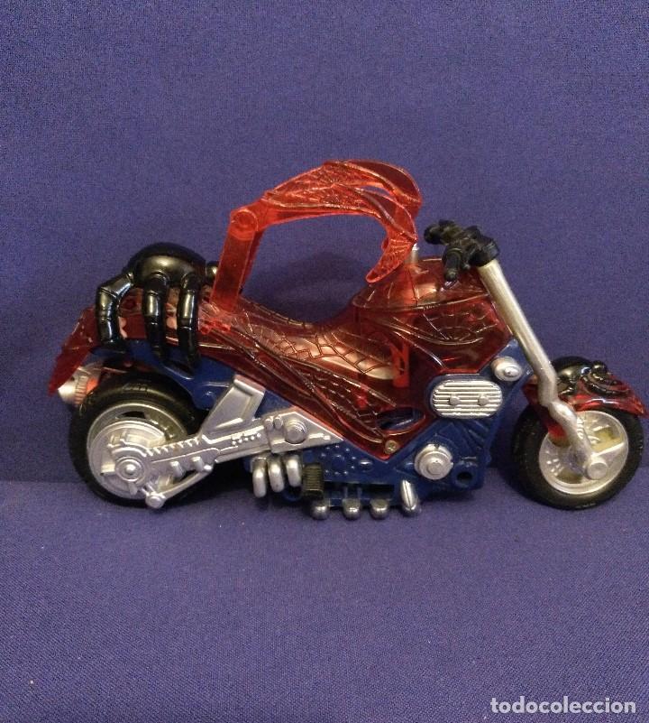 Figuras y Muñecos Marvel: Diarama de SPIDERMAN de Marvel,con moto de REGALO - Foto 11 - 125206123