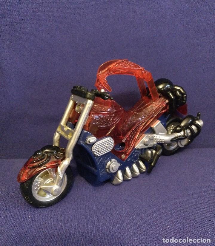 Figuras y Muñecos Marvel: Diarama de SPIDERMAN de Marvel,con moto de REGALO - Foto 13 - 125206123