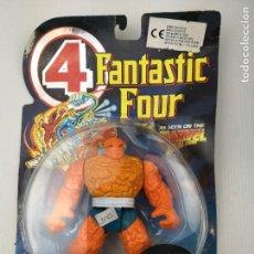 Figuras y Muñecos Marvel: 4 FANTASTIC FOUR THE THING FIGURA. Lote 125351519