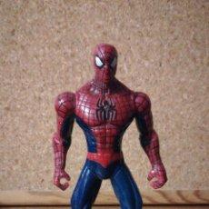 Figuras y Muñecos Marvel: FIGURA DE SPIDERMAN CON LUZ. Lote 127600120