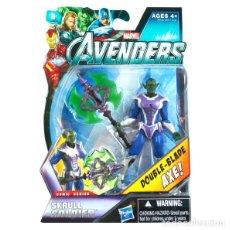 Figure e Bambolotti Marvel: LOS VENGADORES (MARVEL THE AVENGERS) -- SKRULL SOLDIER (COMIC SERIES) - HASBRO 2012 ¡¡NUEVA!!. Lote 32072850