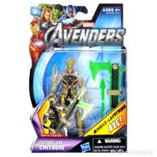 Figure e Bambolotti Marvel: LOS VENGADORES (MARVEL THE AVENGERS) -- COSMIC AXE CHITAURI (MOVIE SERIES) - HASBRO 2012 ¡¡NUEVA!!. Lote 32847864