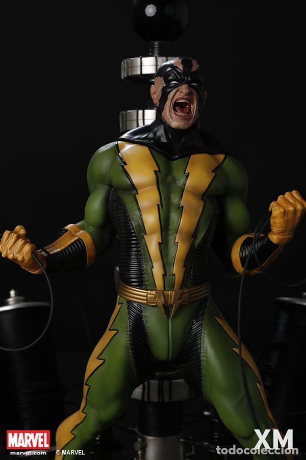 Figuras y Muñecos Marvel: ELECTRO XM STUDIOS EDICION LIMITADA 500 PIEZAS EN EL MUNDO ESTADO NUEVO PRECIO NEGOCIABLE - Foto 2 - 130616850