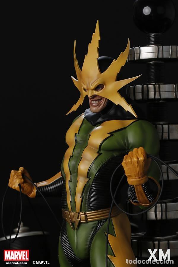 Figuras y Muñecos Marvel: ELECTRO XM STUDIOS EDICION LIMITADA 500 PIEZAS EN EL MUNDO ESTADO NUEVO PRECIO NEGOCIABLE - Foto 3 - 130616850