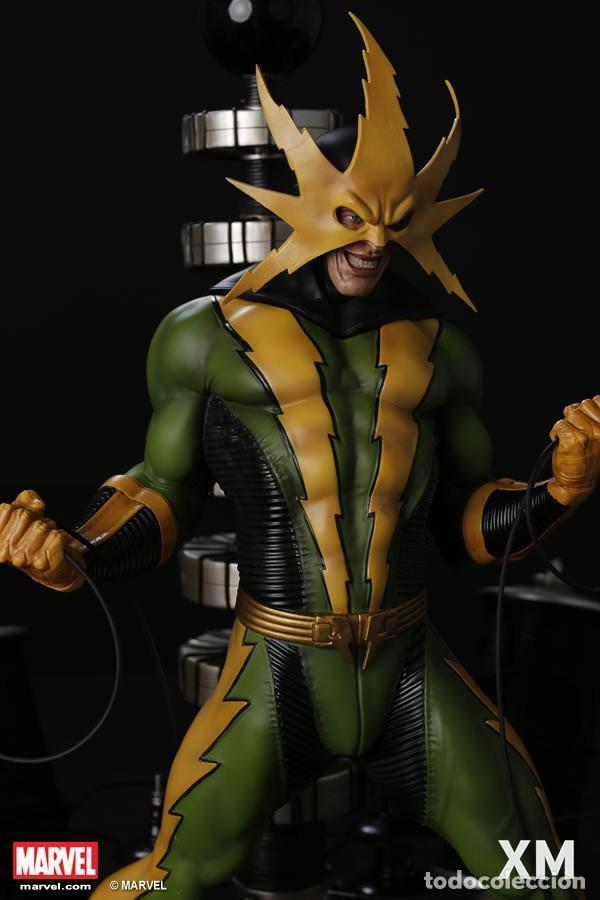 Figuras y Muñecos Marvel: ELECTRO XM STUDIOS EDICION LIMITADA 500 PIEZAS EN EL MUNDO ESTADO NUEVO PRECIO NEGOCIABLE - Foto 4 - 130616850