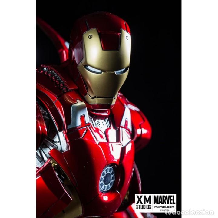Figuras y Muñecos Marvel: IRON MAN MARK VII XM STUDIOS EDICION LIMITADA ESTADO NUEVO PRECIO NEGOCIABLE - Foto 3 - 130616954