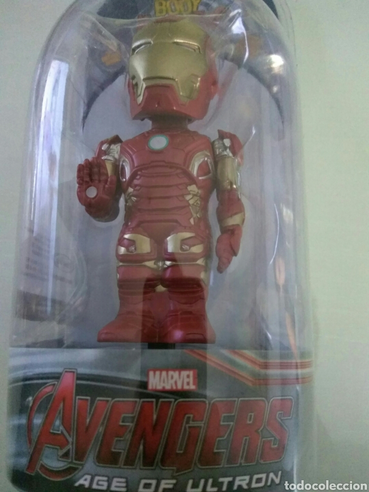 Figuras y Muñecos Marvel: Figura Iron Man Avengers Civil War Body Knockers bodyknocker Neca nuevo - Foto 2 - 130744085