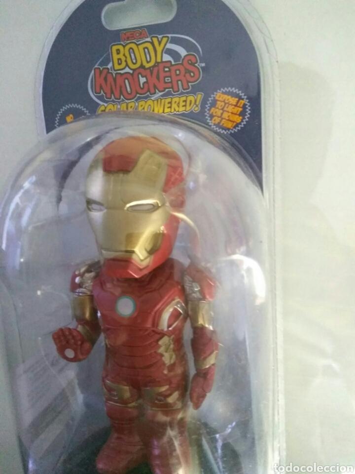 Figuras y Muñecos Marvel: Figura Iron Man Avengers Civil War Body Knockers bodyknocker Neca nuevo - Foto 3 - 130744085