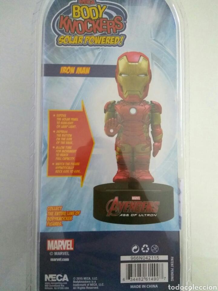 Figuras y Muñecos Marvel: Figura Iron Man Avengers Civil War Body Knockers bodyknocker Neca nuevo - Foto 4 - 130744085