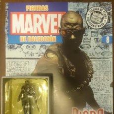 Figuras y Muñecos Marvel: MARVEL FIGURAS DE PLOMO PINTADAS A MANO DE ALTAYA. N 8 BLADE. Lote 130771544