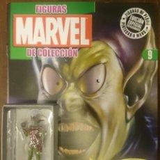 Figuras y Muñecos Marvel: MARVEL FIGURAS DE PLOMO PINTADAS A MANO DE ALTAYA. N 9 DUENDE VERDE. Lote 130771616