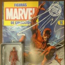 Figuras y Muñecos Marvel: MARVEL FIGURAS DE PLOMO PINTADAS A MANO DE ALTAYA. N 14 DAREDEVIL. Lote 130771916