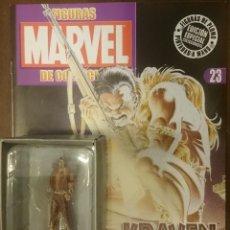 Figuras y Muñecos Marvel: MARVEL FIGURAS DE PLOMO PINTADAS A MANO DE ALTAYA. N 23 KRAVEN EL CAZADOR. Lote 130772440