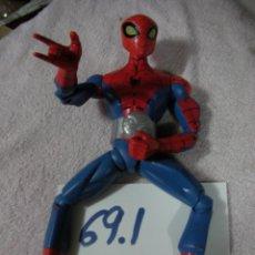Figuras y Muñecos Marvel: SPIDERMAN DE GRAN TAMAÑO CON SONIDO DE VOZ ESPAÑOL. Lote 130779932