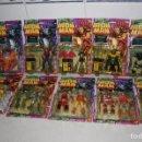 Figuras y Muñecos Marvel: ESPECTACULAR MASTERS LOTE 9 BLISTER NUEVOS SERIE IRONMAN AÑOS 90 MARVEL COMICS HAWKEYE MODOK WA. Lote 130813120