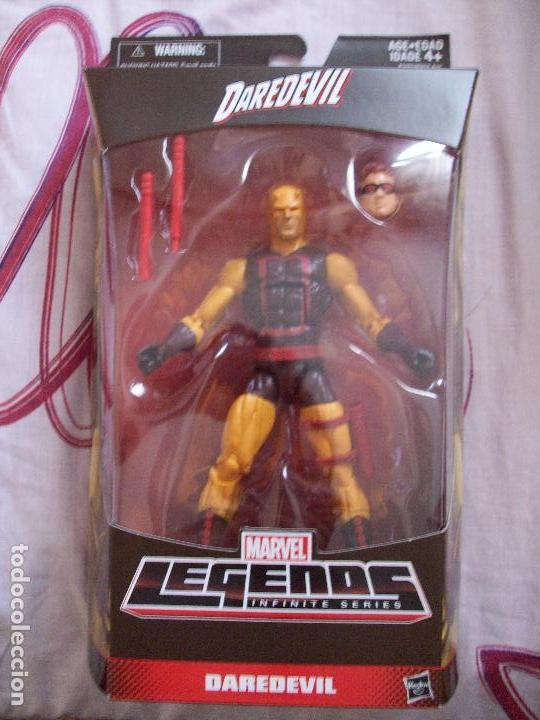 MARVEL LEGENDS YELLOW DAREDEVIL WALGREENS EXCLUSIVE (Juguetes - Figuras de Acción - Marvel)