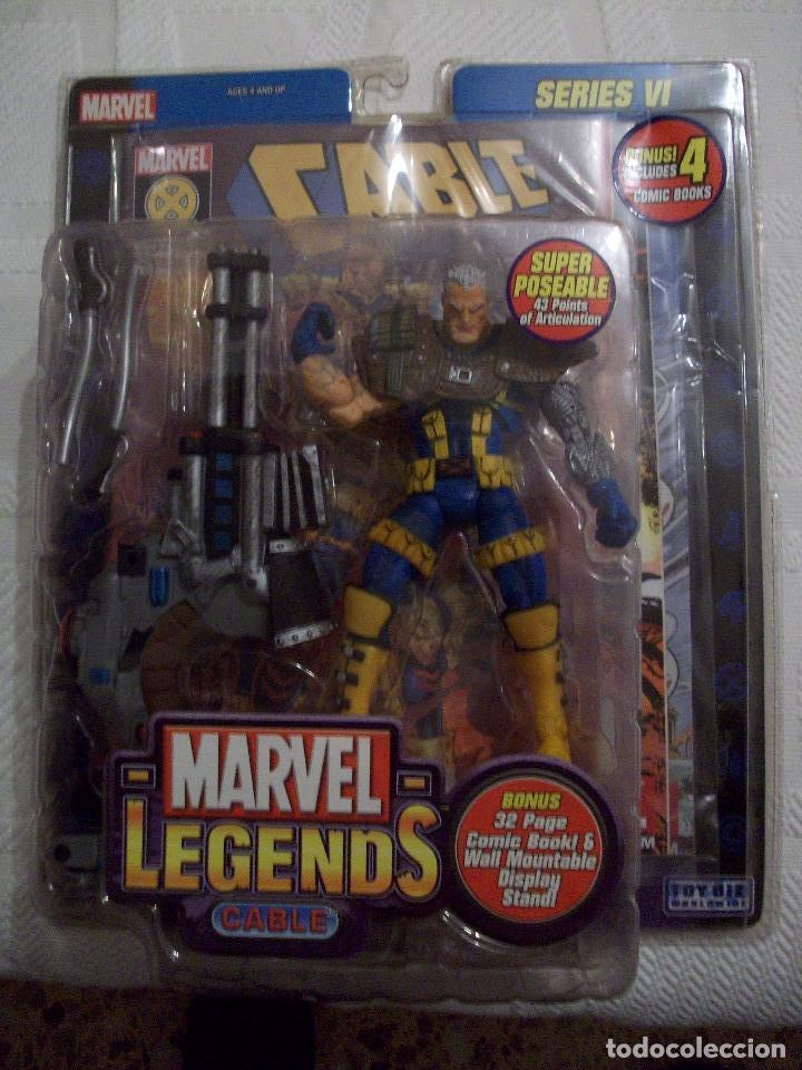 MARVEL LEGENDS CABLE TOYBIZ SERIES (Juguetes - Figuras de Acción - Marvel)