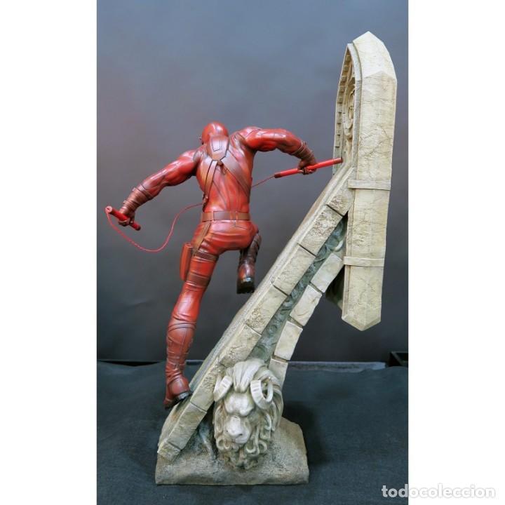 Figuras y Muñecos Marvel: DAREDEVIL XM STUDIOS ESTADO NUEVO AMBAS CAJAS PRECIO NEGOCIABLE - Foto 2 - 131206388