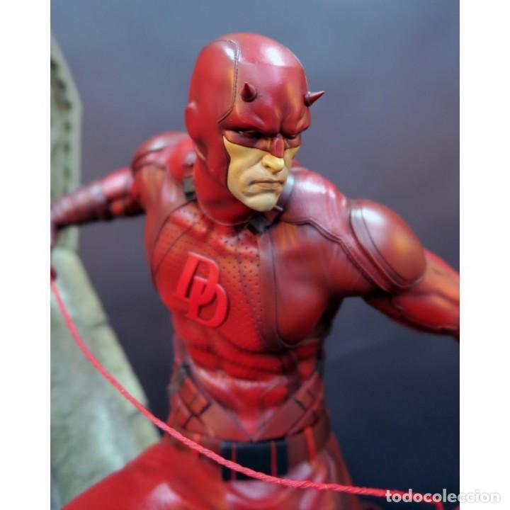 Figuras y Muñecos Marvel: DAREDEVIL XM STUDIOS ESTADO NUEVO AMBAS CAJAS PRECIO NEGOCIABLE - Foto 3 - 131206388