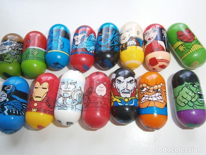 Figuras y Muñecos Marvel: Tico Tacos Marvel - Mighty Beanz - 15 unidades - Giochi preziosi - Jumping Beans - Foto 2 - 131577522