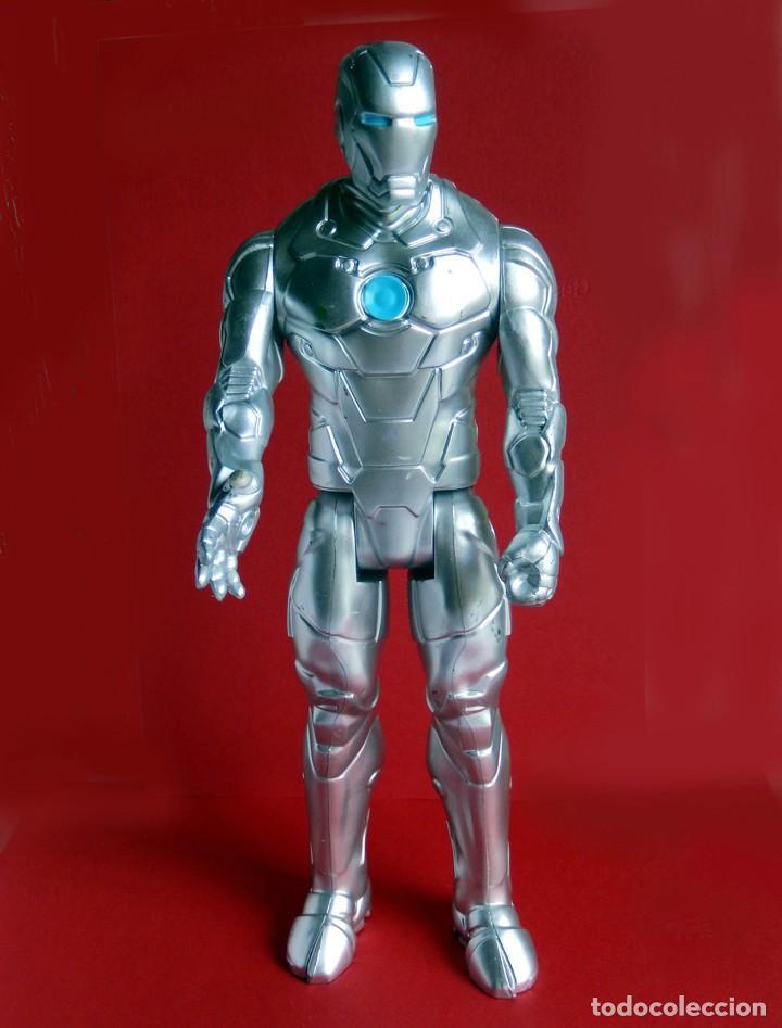 IRON MAN, STELL - MARK II - FIGURA GRANDE, ARTICULADA , EN PVC DE 28,5 CM. 2013 MARVEL ORIGINAL (Juguetes - Figuras de Acción - Marvel)