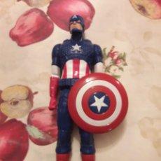 Figuras y Muñecos Marvel: FIGURA CAPITÁN AMÉRICA. MARVEL. HASBRO 2014.30CM.. Lote 133770226