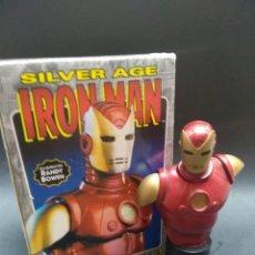 Figuras y Muñecos Marvel: IRON MAN MINI BUST - RANDY BOWEN DESIGNS - MARVEL MINI BUSTO DE RESINA. Lote 135208686
