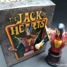 Figuras y Muñecos Marvel: JACK SOTA DE CORAZONES BUSTO RESINA BOWEN DESIGNS MARVEL. Lote 68641297