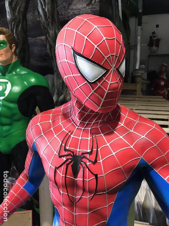 Figuras y Muñecos Marvel: Marvel Spiderman figure of 1.60 meters high figura decoracion Hombre Araña - Foto 3 - 135484122