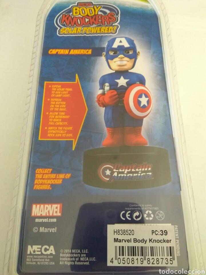 Figuras y Muñecos Marvel: Figura Capitan America Body knocker Neca Marvel nueva - Foto 3 - 135628229