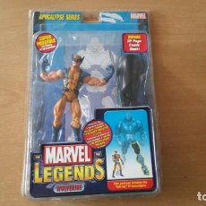 Figuras y Muñecos Marvel: WOLVERINE APOCALYPSE SERIES LOBEZNO MARVEL. Lote 136048558