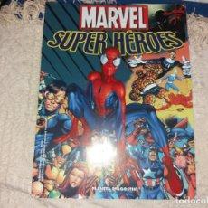 Figuras y Muñecos Marvel: MARVEL SUPER HEROES FIGURAS PLOMO FASCÍCULO PILOTO INICIAL PROMOCIONAL PLANETA AGOSTINI 2004. Lote 136223966