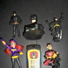 Figuras y Muñecos Marvel: LOTE BATMAN ROBIN BATGIRL. Lote 136259774