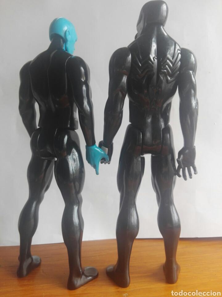 Figuras y Muñecos Marvel: LOTE 2 VILLANOS TITAN HEROES MARVEL HASBRO 2014 ELECTRO Y VENOM 29 CENTIMETROS - Foto 4 - 136812385