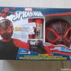 Figuras y Muñecos Marvel: SPIDERMAN MASCARA Y LANZA REDES NUEVO. Lote 137447253