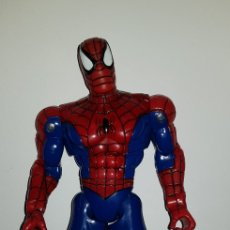Figuras y Muñecos Marvel: FIGURA SPIDER-MAN MIDE 35CM MARVEL 2001 SPIDERMAN ARTICULADO. Lote 137899688