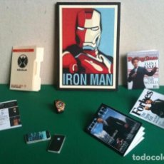 Figuras y Muñecos Marvel: MINIATURAS 1:6 HOT TOYS IRONMAN TONY STARK (PACK 8) ESCALA IRON ONESIX MARVEL DC SUPERHÉROE BARBIE. Lote 137993162
