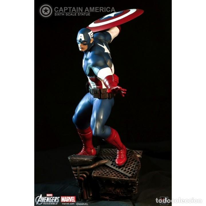 Figuras y Muñecos Marvel: CAPTAIN AMERICA XM STUDIOS ESCALA 1:6 ESTADO NUEVO MIRE MIS OTROS ARTICULOS PRECIO NEGOCIABLE - Foto 2 - 138722214