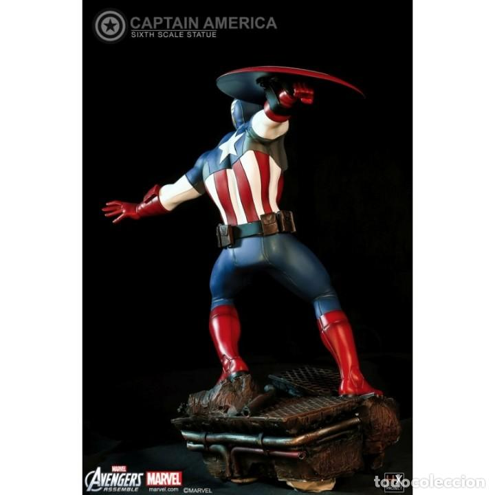 Figuras y Muñecos Marvel: CAPTAIN AMERICA XM STUDIOS ESCALA 1:6 ESTADO NUEVO MIRE MIS OTROS ARTICULOS PRECIO NEGOCIABLE - Foto 3 - 138722214