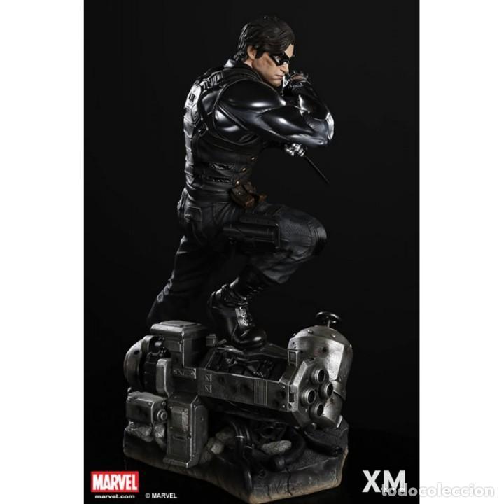 Figuras y Muñecos Marvel: WINTER SOLDIER XM STUDIOS ESCALA 1:4 ESTADO NUEVO MIRE MIS OTROS ARTICULOS PRECIO NEGOCIABLE - Foto 4 - 138722750