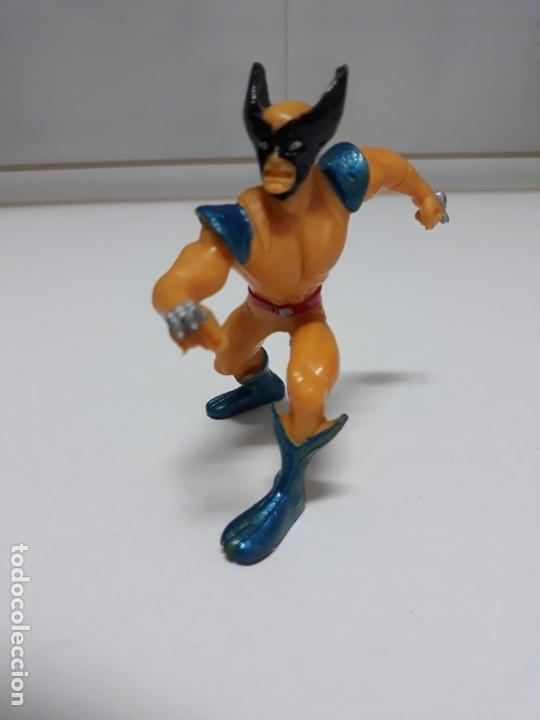 Figuras y Muñecos Marvel: FIGURA DE GOMA LOBEZNO MARVEL YOLANDA 1996 - Foto 2 - 139397622