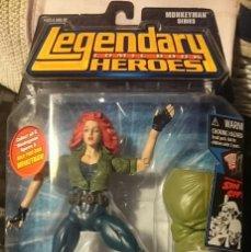 Figuras y Muñecos Marvel: NUEVO LEGENDARY HEROES ANN O'BRIEN FIGURA PIERNA DERECHA MONKEYMAN SERIES TOYBIZ 2007. Lote 142024738