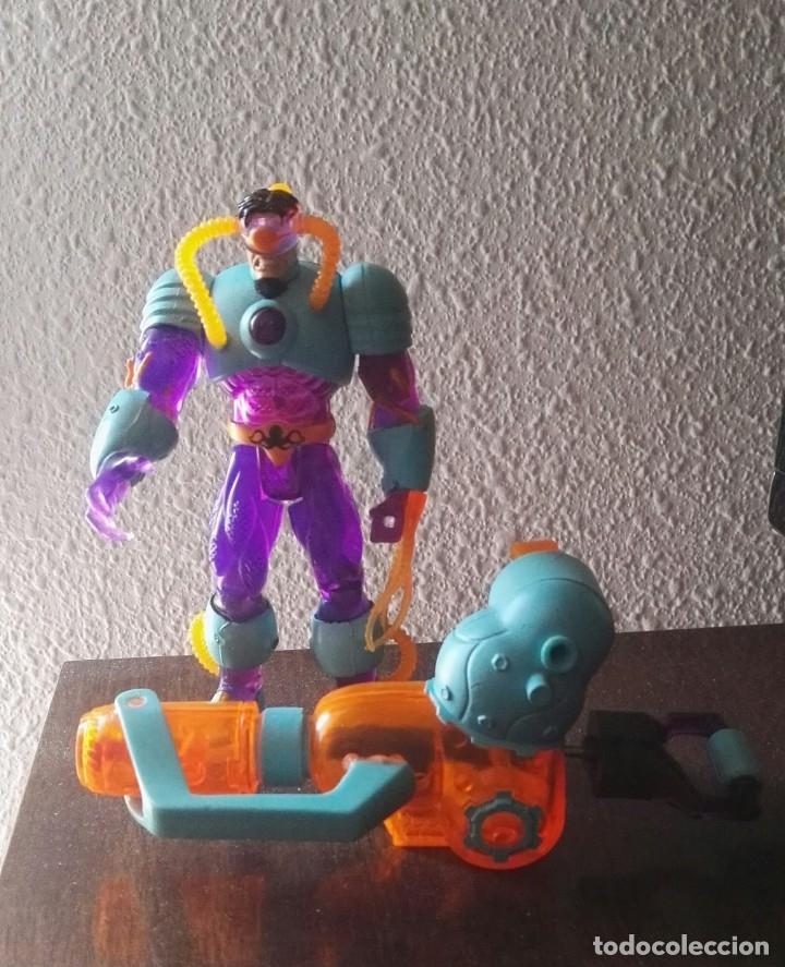 DC OCTOPUS DEEP SEA + WATER GUN TOY BIZ SPIDERMAN RARA (Juguetes - Figuras de Acción - Marvel)