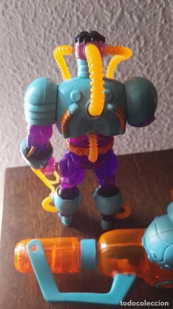 Figuras y Muñecos Marvel: dc octopus deep sea + water gun toy biz spiderman RARA - Foto 3 - 143049754