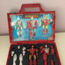 Figuras y Muñecos Marvel: MALETÍN MEGA BLOKS IRON MAN 2 MARVEL. Lote 143323162